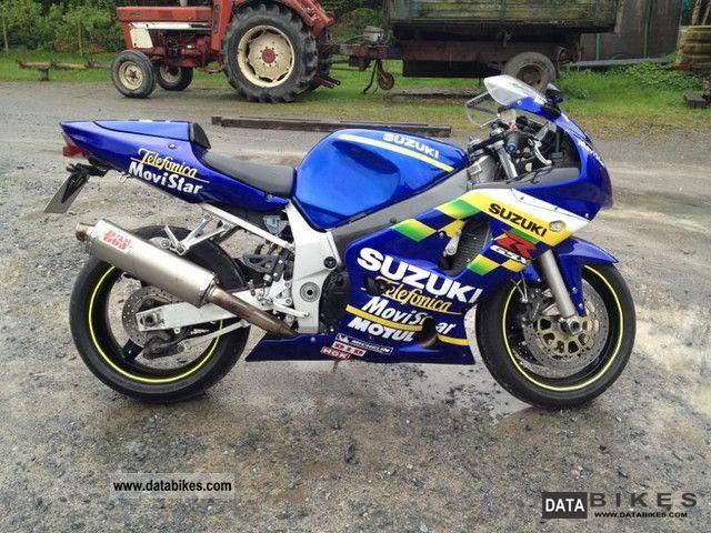 2003 Suzuki  GSX 600 Motorcycle Motorcycle photo