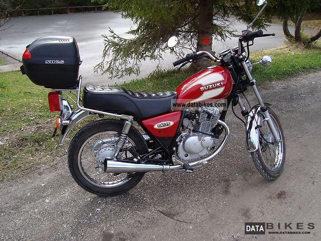 1999 Suzuki  GN 125 Motorcycle Chopper/Cruiser photo