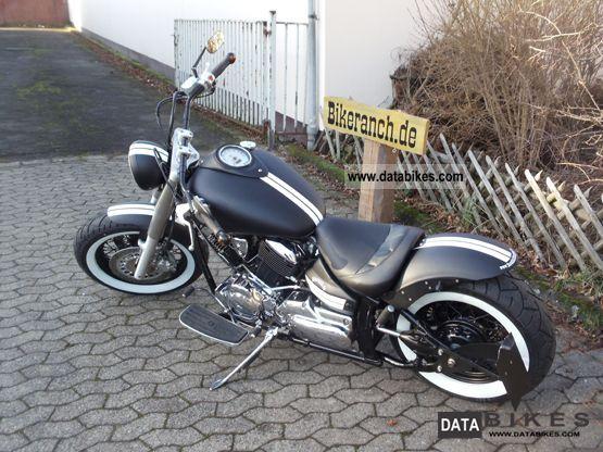 2002 Suzuki VL 800 FAT-BOBBER-STILETTO Black + White first Hand
