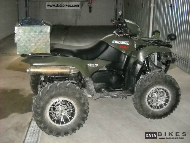Suzuki  king quad 750 2009 Quad photo