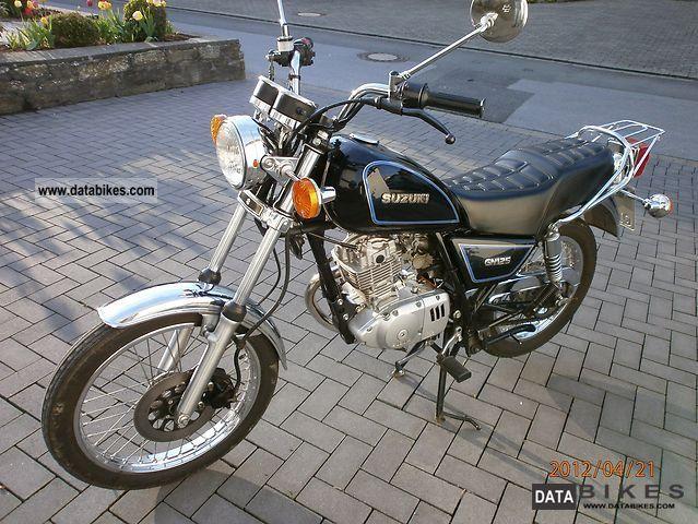 1986 Suzuki GN 125