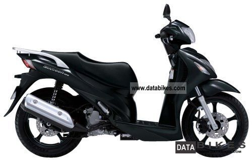 2011 Suzuki  UX 125 Sixteen Motorcycle Scooter photo