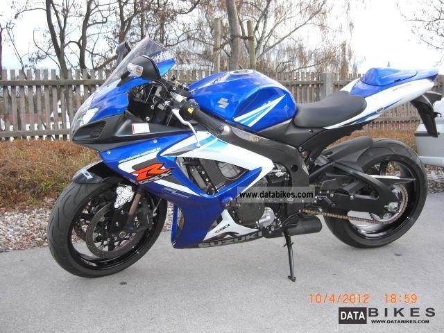 2007 Suzuki  Gsx750 R K6 Motorcycle Sports/Super Sports Bike photo