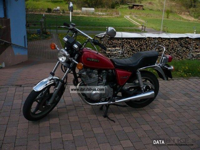 1980 Suzuki  GS 450 L Motorcycle Chopper/Cruiser photo