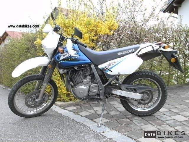 2002 Suzuki  DR 650 Motorcycle Enduro/Touring Enduro photo