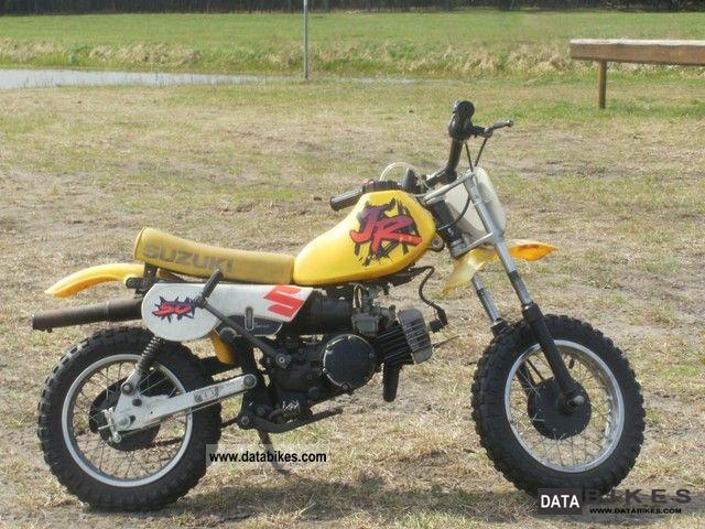 1993 Suzuki  50 JR Motorcycle Rally/Cross photo