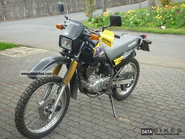 1997 Suzuki  DR Motorcycle Enduro/Touring Enduro photo