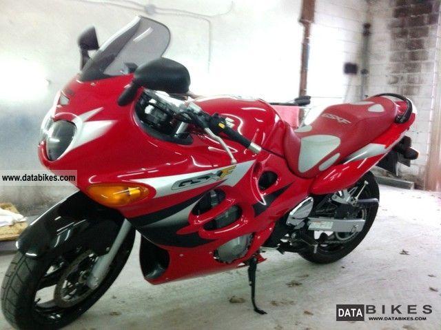 2005 Suzuki  GSX 600F Motorcycle Motorcycle photo