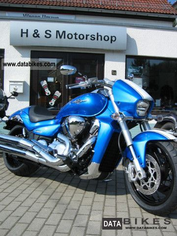 2012 Suzuki  M 1800 Blue Edition RZ, VZR 1800 Intruder Motorcycle Chopper/Cruiser photo