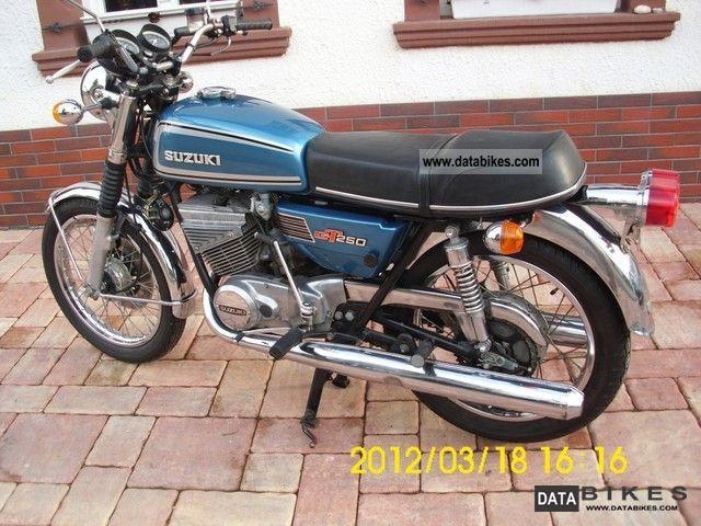 1975 Suzuki Gt 250