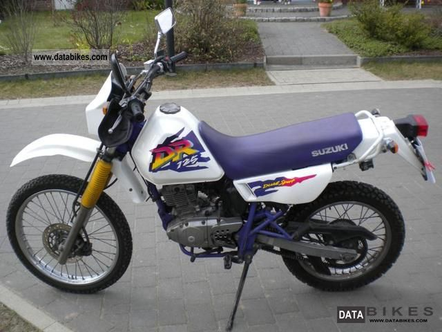 Suzuki  DR 125 SE (SF-44A) 1997 Enduro/Touring Enduro photo