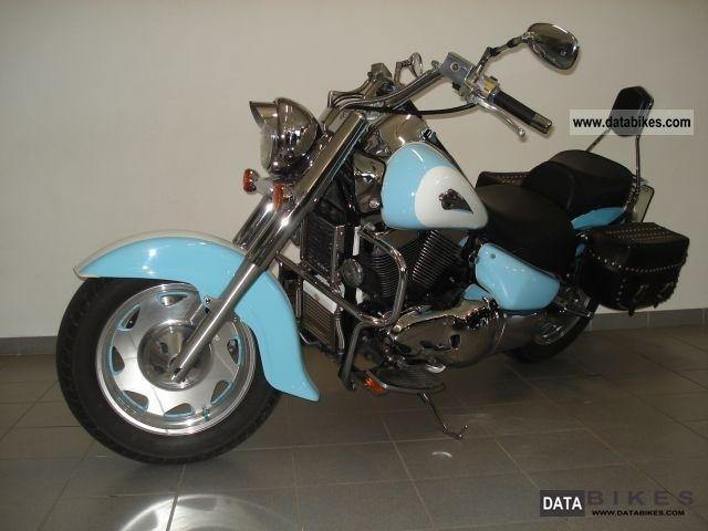 1998 Suzuki  VL 1500 Intruder custom Motorcycle Chopper/Cruiser photo