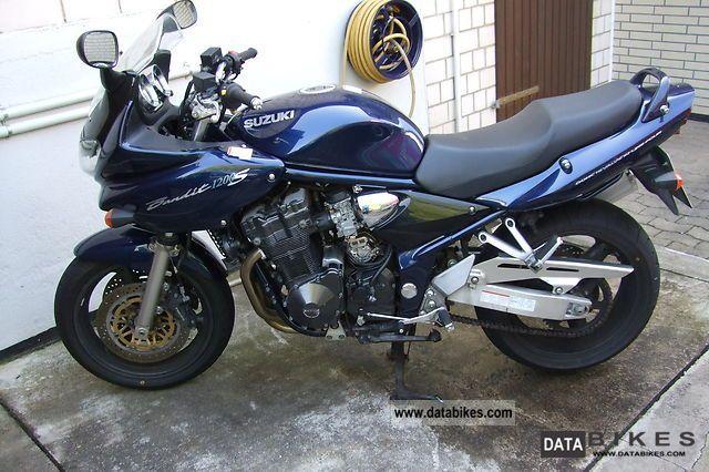 2002 Suzuki  1200 Bandit's Motorcycle Sport Touring Motorcycles photo