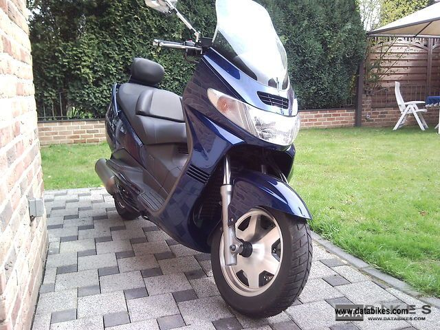 Suzuki  AN400 2001 Scooter photo
