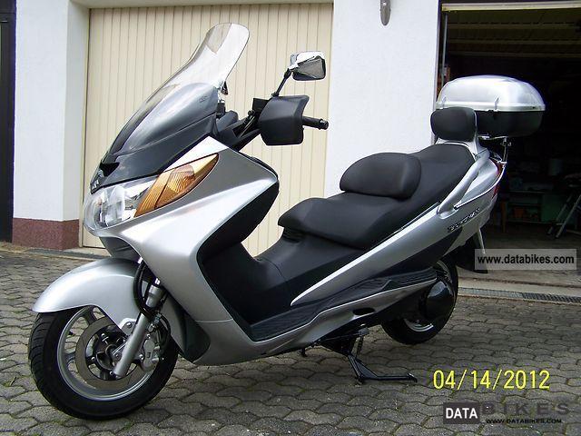 2003 Suzuki  Burgmann 400 Motorcycle Scooter photo