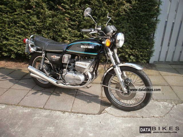Suzuki  GT380 1977 Vintage, Classic and Old Bikes photo