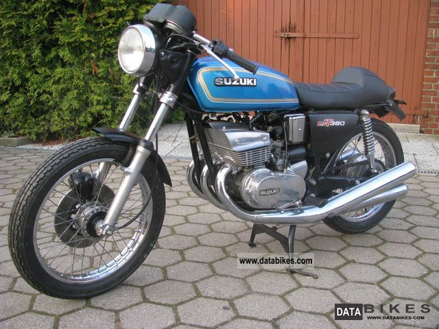 1975 Suzuki  GT380 Cafe Racer Motorcycle Motorcycle photo
