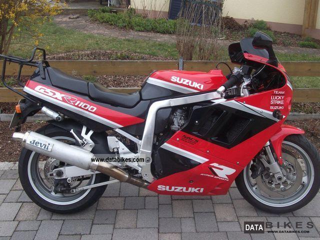 1991 Suzuki  GSX 1100 R Motorcycle Motorcycle photo