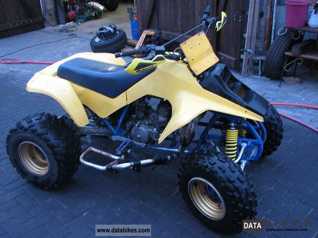 1986 Suzuki  LT 250 R Motorcycle Quad photo