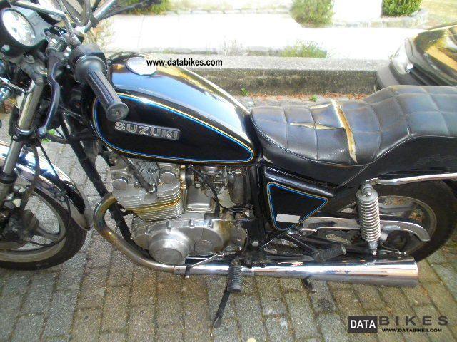 1980 Suzuki  450 Gs Motorcycle Tourer photo