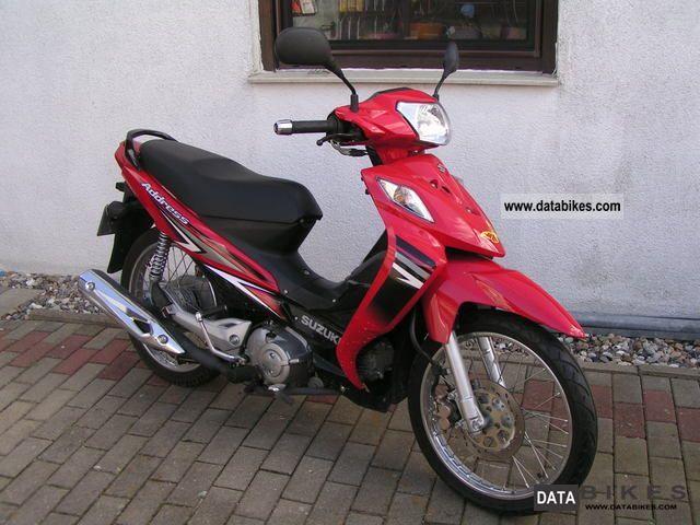2009 Suzuki  Address FL 125 Motorcycle Lightweight Motorcycle/Motorbike photo