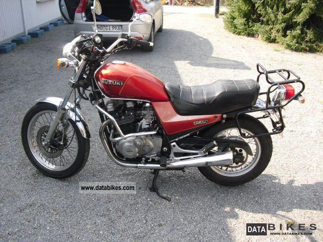 1984 Suzuki  GR 650 Motorcycle Chopper/Cruiser photo