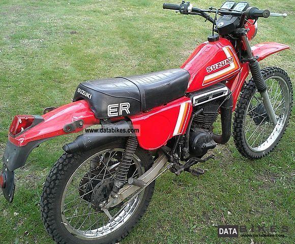 1982 Suzuki  ER 125 Motorcycle Enduro/Touring Enduro photo