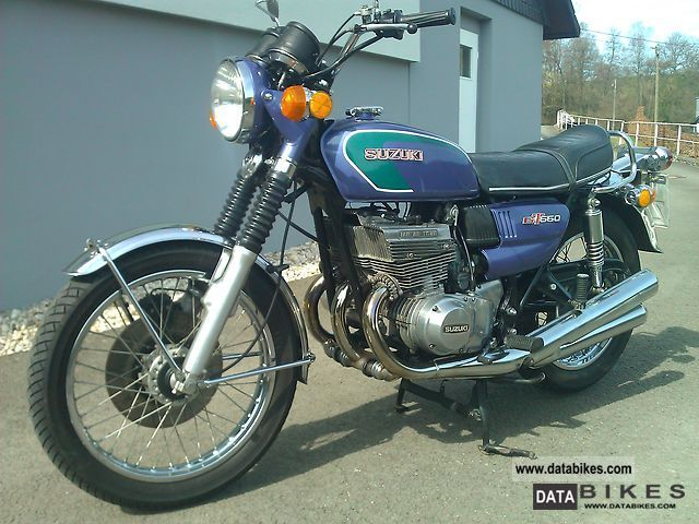 1974 Suzuki  GT 550 Motorcycle Motorcycle photo