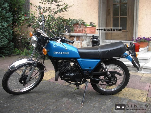 1980 Suzuki  TS 125 Motorcycle Enduro/Touring Enduro photo