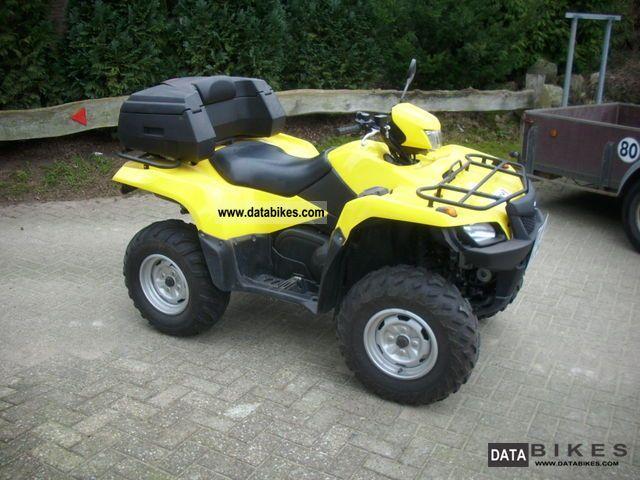 2007 Suzuki  AD 700 Motorcycle Quad photo