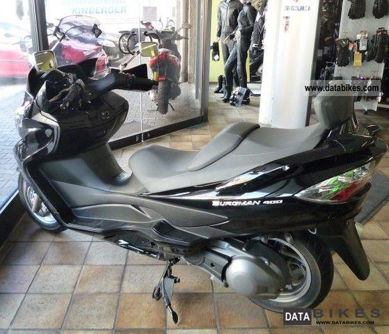 2008 Suzuki  AN 400 ZK8 Motorcycle Scooter photo