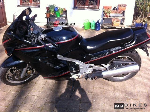 1990 Suzuki  GSX 1100F Motorcycle Tourer photo