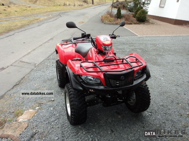 2010 Suzuki  AD 750 with EPS, Power Steering Motorcycle Quad photo