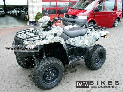 2011 Suzuki  750 AXI 4x4 new - street legal! Motorcycle Quad photo