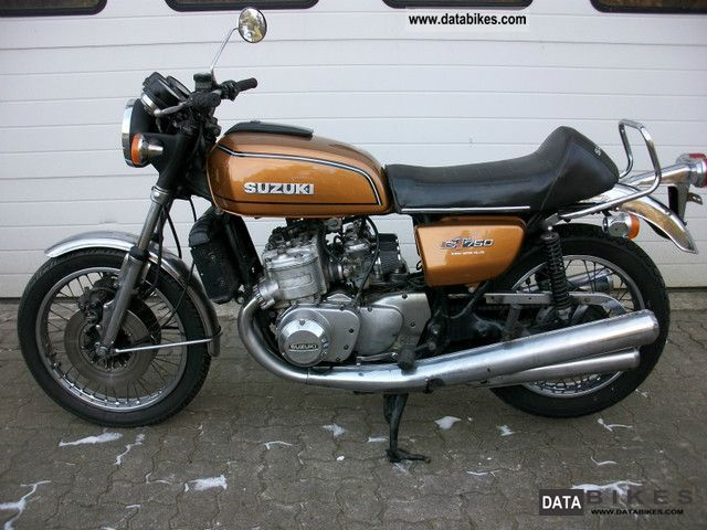 Suzuki  GT 750 1977 Vintage, Classic and Old Bikes photo