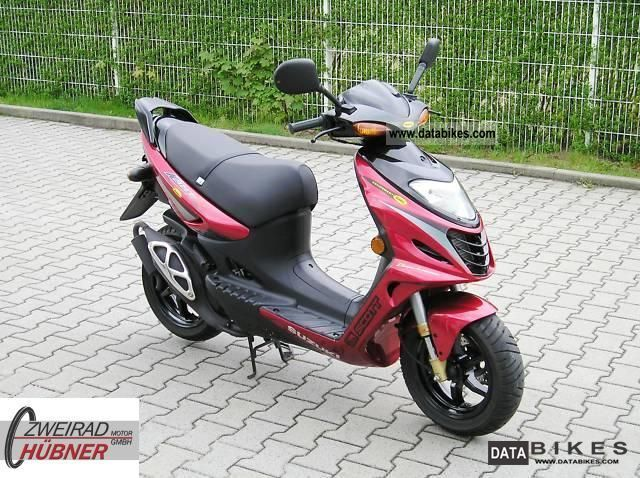 2007 Suzuki  AY 50 Katana Einpritzmotor quite loose 80km / h Motorcycle Scooter photo