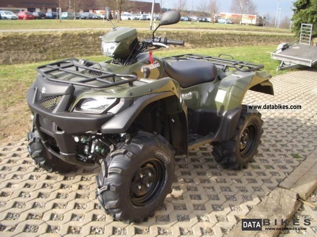 2011 Suzuki  AD 750 XL1 2011 without EPS Motorcycle Quad photo