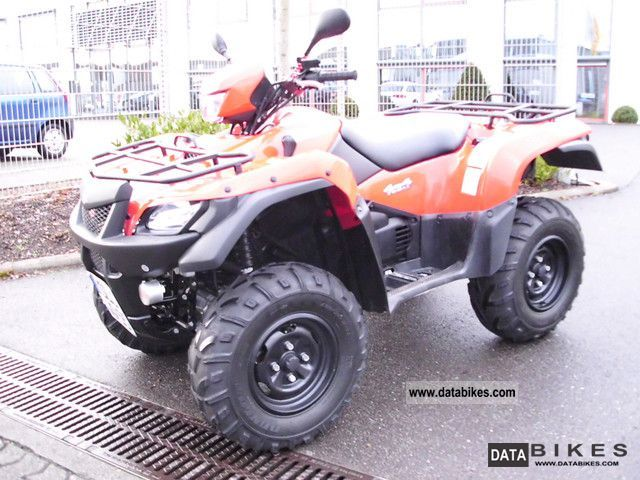 Suzuki  750AXi presenter with LOF Perm. 2011 Quad photo