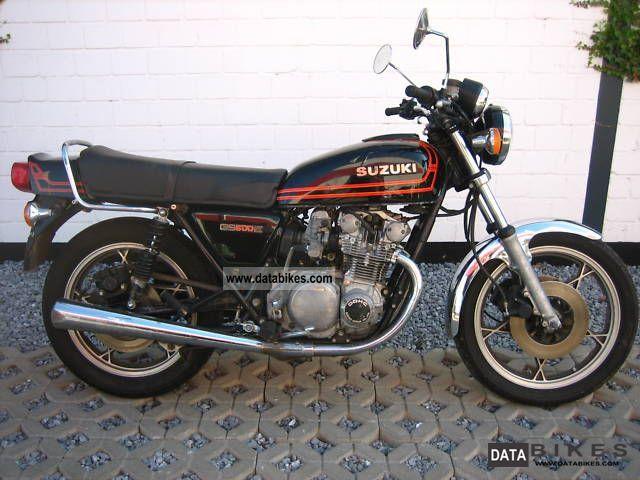 Suzuki  GS 500 4 cylinder 1980 Tourer photo
