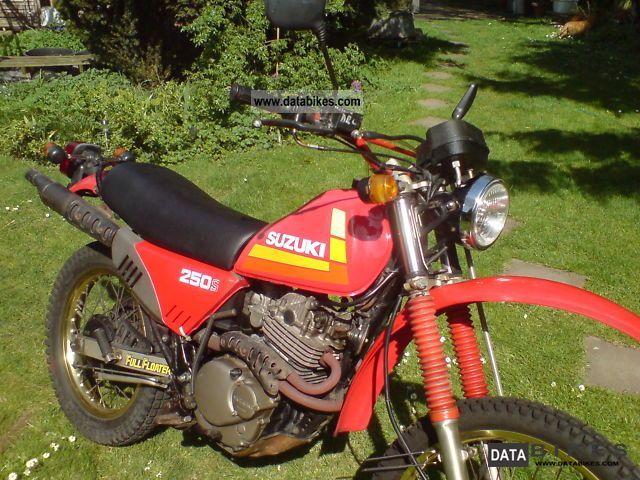 1986 Suzuki  DR 250s / 42A SJ Motorcycle Enduro/Touring Enduro photo