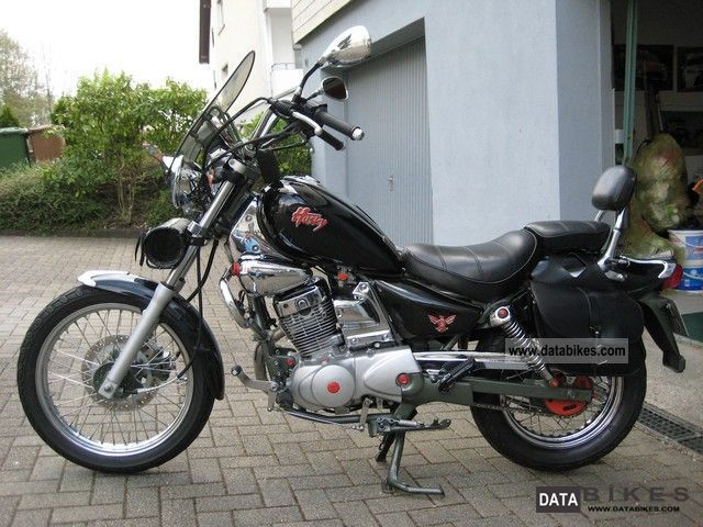 1998 SYM  Husky Motorcycle Chopper/Cruiser photo