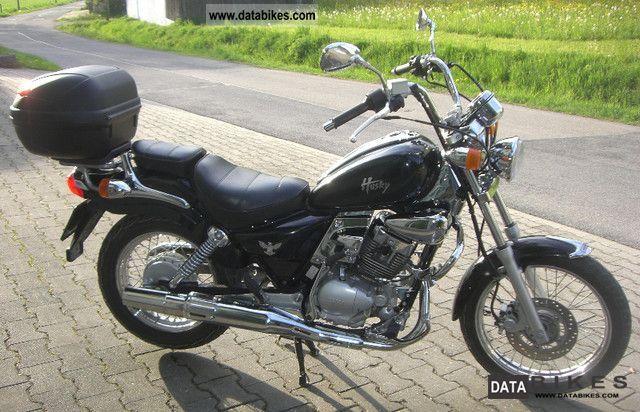 1999 SYM  Husky 125 Motorcycle Chopper/Cruiser photo