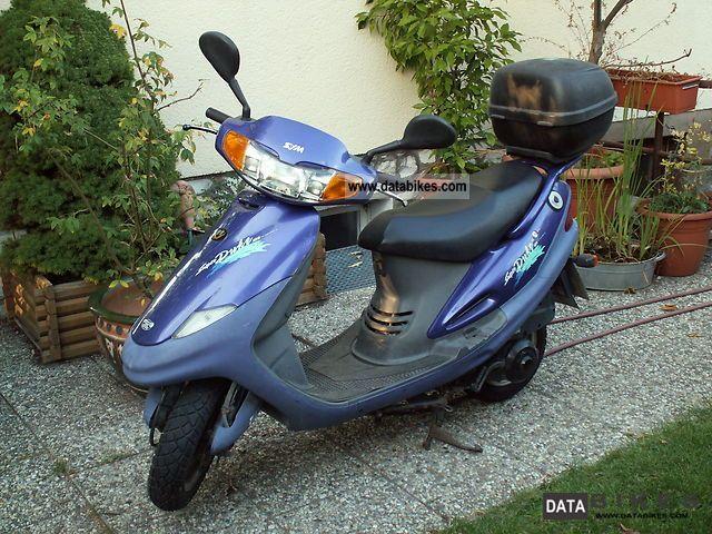 2001 SYM  Super Duke Motorcycle Scooter photo