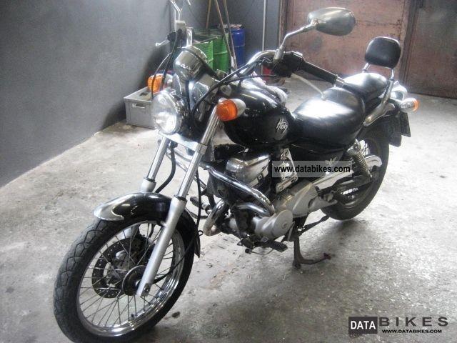 2002 SYM  Husky 125 Motorcycle Chopper/Cruiser photo