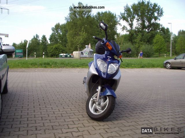 2002 SYM  Shark 125 E1 Motorcycle Lightweight Motorcycle/Motorbike photo