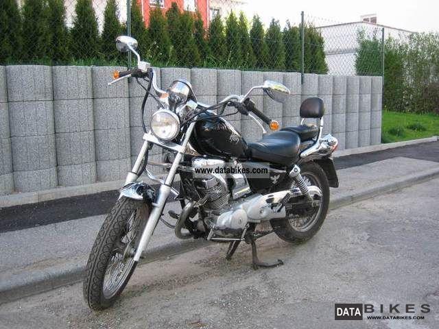 1997 SYM  Husky Motorcycle Chopper/Cruiser photo