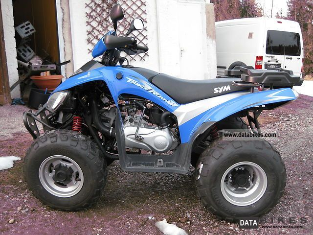 2009 SYM  Track Runner 200 Motorcycle Quad photo
