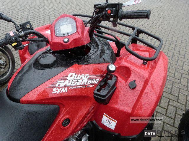 2011 Sym Quad Rider 600