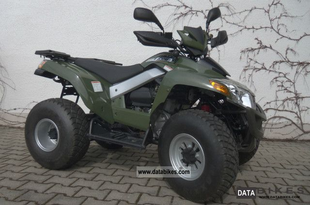 2007 SYM  Quad lander 250 Motorcycle Quad photo