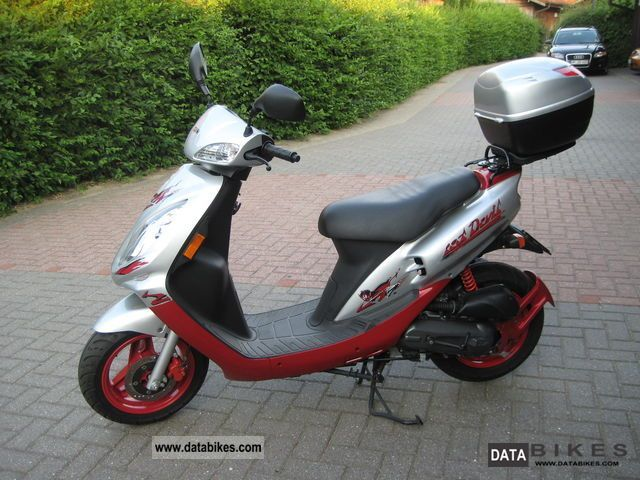 2009 SYM  Red Devil Motorcycle Motor-assisted Bicycle/Small Moped photo